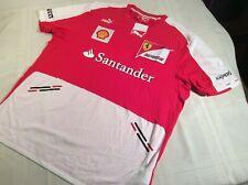SCUDERIA FERRARI Santander FORMULA 1 Team Set Up Shirt (XXL) by PUMA NWT