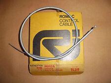 HONDA CD90 CB100 GREY THROTTLE CABLE 17910-070-000 NOS UK MADE ROMAC TS219