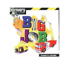 Big Job Get Behind The Wheel & Build Game Fire Trucks Game - Kids Software Cd