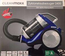 Cleanmaxx Zyklonstaubsauger 2400 mit HEPA Filter System Staubsauger beutellos