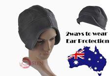 Women Men Unisex Ear Protection FLEECE Brim Brimless Cycling Camping Sports Hat