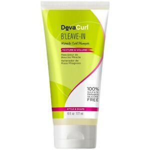 Devacurl B Leave in Miracle Curl Plumper Texture & Volume, Style & Shape (177ml)