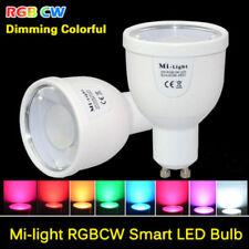 E27 GU10 5W RGB Smart Led Bulb MiLight Dimmable Wifi Light 2.5G Lamp AC85-265V