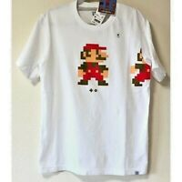 UNIQLO SUPER MARIO Dot Nintendo UT MEN'S Graphic T-Shirt White XS-XL Japan