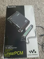 More details for sony mz-rh1 minidisc recorder player hi-md walkman mp3