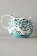 NEW Anthropologie Gloriosa Creamer Mint Turquoise