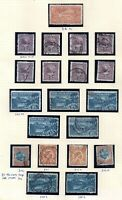 New Zealand 1902 fine mint & used catalogued collection on album page WS21592(L)