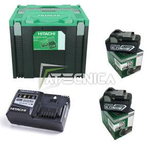 Satz Versorgung hitachi 2 Batt 18 V 6A+1 Ladegeräte+1 Box Stapelbar 4