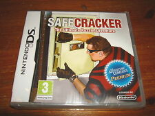 SAFECRACKER ** NEW & SEALED **  Nintendo Ds Game
