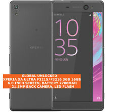 "SONY XPERIA XA ULTRA F3215/F3216 3gb 16gb 21.5mp Camera 6.0"" Android Smartphone"