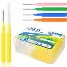 Hilo Dental 60 un./lot cepillo interdental de higiene bucal limpia los dientes palillo de dientes
