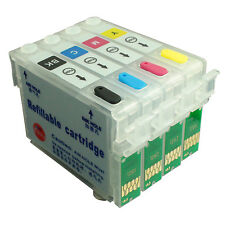 NON-OEM Refillable Ink Cartridge kit for EPSON SX120 SX125 SX130 S22 T1281-T1284