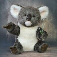 Hedge large Australian koala teddy, Realistic 16 in OOAK by Petelina Natalia