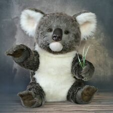 Hedge large Australian koala teddy, Realistic 16 in OOAK by Petelina Natalia