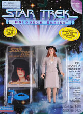 "Star Trek Dr Beverly Crusher Holodeck Series Playmates 4.5"" Figure1995 5+"