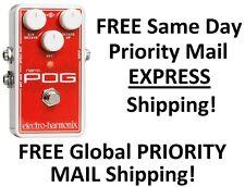 New Electro-Harmonix EHX Nano Pog Polyphonic Octave Generator Effects Pedal!