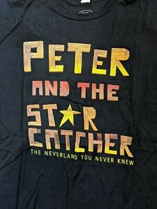 Broadway Mens-Unisex T-Shirt - PETER and THE STARCATCHER - Size M