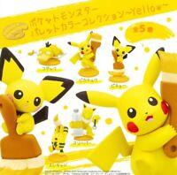 Pokemon Palette Color Collection Gasha Mini Figure Full 5 types Set Gashapon New