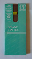 PRETTY POLLY STAND EASIES STOCKINGS - ONE SIZE - COLOUR : SHERRY - NEW & SEALED