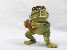Nature's Window Football Frog Figurine New In Box