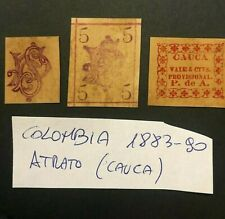 COLOMBIA -1883 - CAUCA - RARITY STAMPS - VAL.10.000€