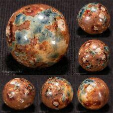 BEAUTIFUL BIG GREEN/Brown Bennington Marble 3/4 MINT- hawkeyespicks