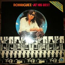 "VERY RARE !!! ""Rodriguez at his BEST"" vinyl LP New Zealand Interfusion label"