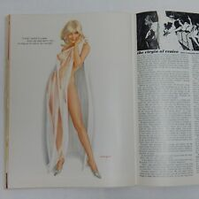 MAY 1968 PLAYBOY MAGAZINE COMPLETE WITH VARGAS PIN UP ART