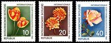 EBS East Germany DDR 1961 International Garden Exhibition Michel 854-856 MNH**