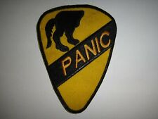 US 1st Cavalry Division PANIC Vietnam War Patch