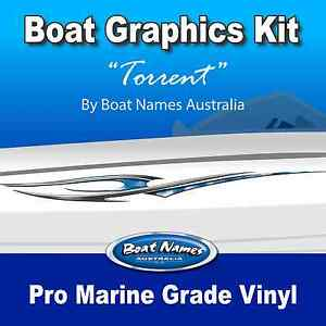 Boat Graphics Kit - Torrent