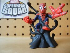 Marvel Super Hero Squad SPIDER-MAN in Black Symbiote Goo from Wave 1 Venom Pack