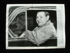 Original, Vintage 1946 8″ x 10.75″ Wire Photograph of Babe Ruth