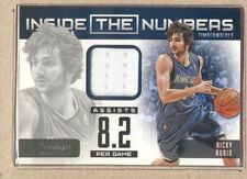 Ricky Rubio 5 2012-13 Prestige Inside the Numbers Jersey