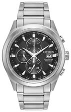 Citizen Eco-Drive Men's CA0650-58E Chandler Chronograph Titanium 43mm Watch