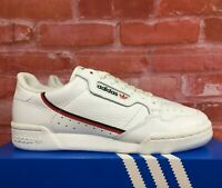 ADIDAS CONTINENTAL 80 WHITE NAVY NAVY SCARLET G27706 MEN'S LIFESTYLE SHOES SIZES