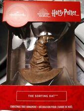 Hallmark Harry Potter The Sorting Hat Christmas ornament