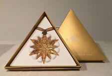 Swarovski Crystal Snowflake Ornament 2011 Free Shipping US CA large Gold