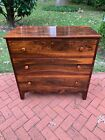 Antique Victorian Brazilian-Rosewood Chest of Three Drawers, circa 1870