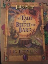 Harry Potter The Tales Of Beedle The Bard 1st Edition 1st Print Facsimile Signed