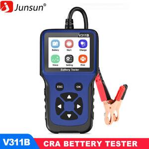 Car Battery Tester Charger Analyzer 12V 100-2000CCA Charging System Test