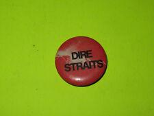 """Vintage 80'S Dire Straits 1"""" Badge Button Pinback Rock"""