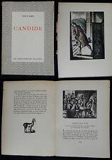 J/ VOLTAIRE-CANDIDE Constant le Breton (Jacques BOULLAIRE) La Pléïade 1930 (+n°