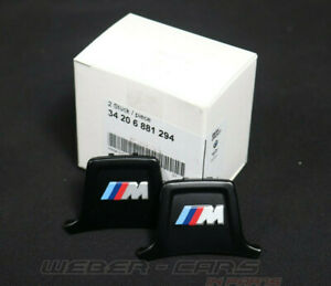 6881294 New OEM BMW M8 F91 M Logo Clip For M Performance Brake Caliper Rear L+R