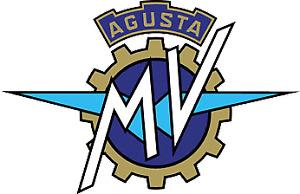 Adesivo LOGO MV AGUSTA 50 mm Tuning Auto Moto