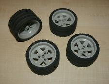 Lego Technic 1 Satz Reifen 63,8 x 36 ZR mit Felge für 8070 8653 8366