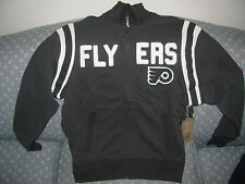 Philadelphia Flyers 47 Brand Full Zip Jacket Mens Small NWT