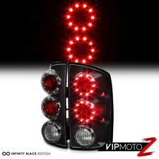 Black L+R LED Tail Light Lamp Assembly Dodge 02-06 RAM Truck 1500/2500/3500 V8