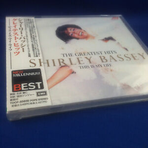 SHIRLEY BASSEY: This Is My Life (RARE 2001 JAPANESE HITS PROMO CD TOCP-65656)