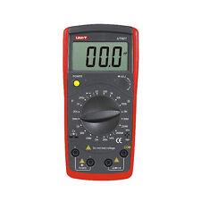 UT601  Capacitance Meters Ohmmeters Capacitor Resistor w/Diode & hFE Test
